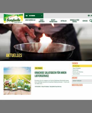 Website für Köche I ASK Marketing